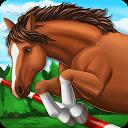 جهان اسب - نمایش پریدن