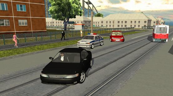بازی اندروید مسیر گانگستری - Criminal Russia 3D.Gangsta way
