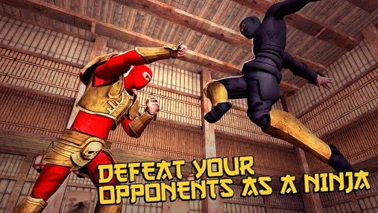 بازی اندروید بزن بزن نینجای کونگ فوکار - Ninja Kung Fu Fighting 3D