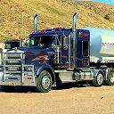کامیون حامل نفت