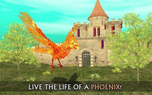 بازی اندروید شبیه ساز ققنوس - Phoenix Sim 3D