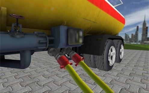بازی اندروید راننده کامیون حمل سوخت - Grand City Oil Truck Driver