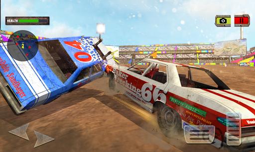 بازی اندروید تخریب خشمگین - Demolition Derby Xtreme Racing