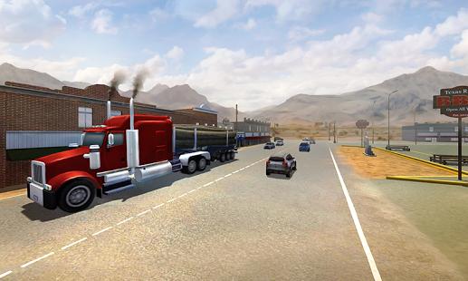 بازی اندروید کامیون آمریکایی 2016 - USA 3D Truck Simulator 2016