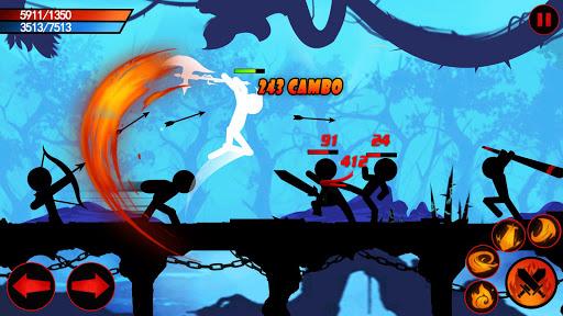 بازی اندروید افسانه جنگجو - مبارزه سایه تاریکی - Warrior Legend- Shadow Dark Fighting Game