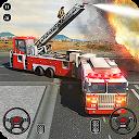 رانندگی کامیون آتش نشانی - پاسخ اضطراری 911