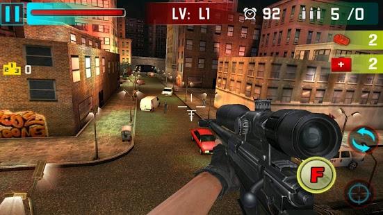 بازی اندروید پیکار تیرانداز مخفی - Sniper Shoot War 3D