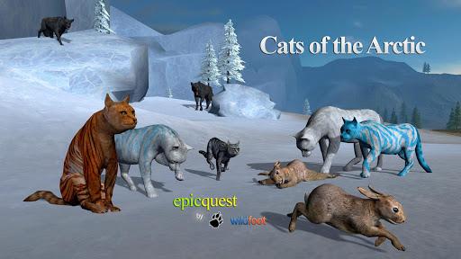 بازی اندروید گربه های قطب شمال - Cats of the Arctic
