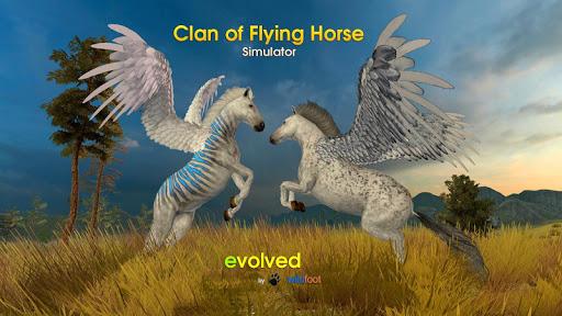 بازی اندروید قبیله پگاسوس - پرواز اسب - Clan of Pegasus - Flying Horse
