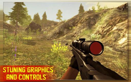 بازی اندروید تک تیرانداز جنگل - Animal Hunting Sniper Shooter: Jungle Safari