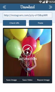 نرم افزار اندروید اینستا دانلود - Insta Download - Video & Photo