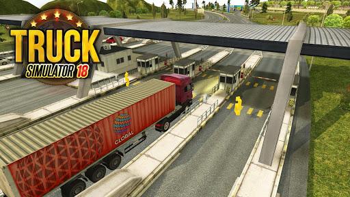 بازی اندروید کامیون های اروپایی - Truck Simulator 2018 : Europe