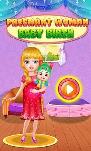 بازی اندروید تولد فرزند مادر حامله - Pregnant Woman Baby Birth
