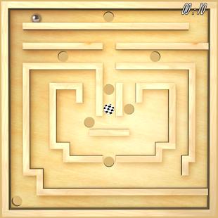 بازی اندروید حرکت توپ - Classic Labyrinth 3d Maze