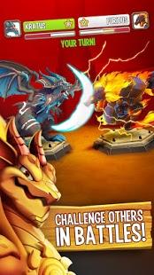 بازی اندروید شهر اژدها - Dragon City