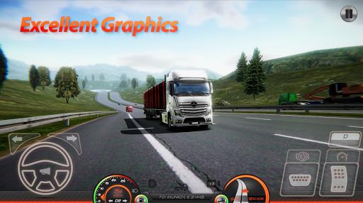 بازی اندروید شبیه ساز کامیون های اروپایی 2 - Truck Simulator : Europe 2