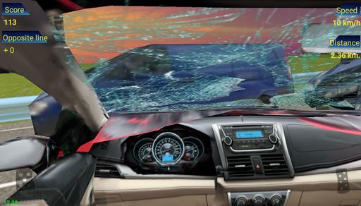 بازی اندروید ترافیک خودرو در مسابقه - Traffic Racing in Car