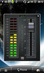 نرم افزار اندروید اکولایز اندازه موسیقی - Music Volume EQ