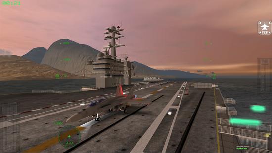 بازی اندروید شبیه ساز پرواز اف 18 - F18 Carrier Landing Lite