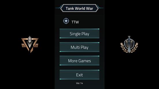 بازی اندروید جنگ جهانی تانک - Tank World War