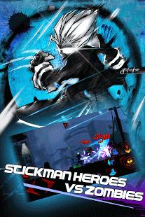 بازی اندروید انتقام جویان زامبی - Zombie Avengers-Stickman War Z
