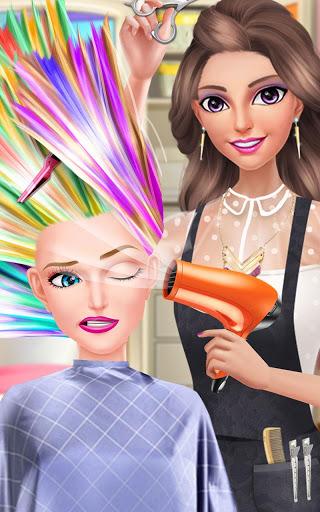 بازی اندروید سالن مد تابستانی دختران - Hair Fashion Summer Girl Salon