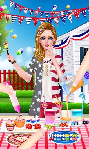 بازی اندروید جشن روز استقلال - Independence Day Party Dressup