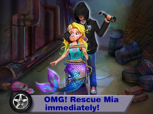 بازی اندروید اسرار پری دریایی 7 - شاهزاده خانم میا پری دریایی - Mermaid Secrets7– Save Mermaid Princess Mia