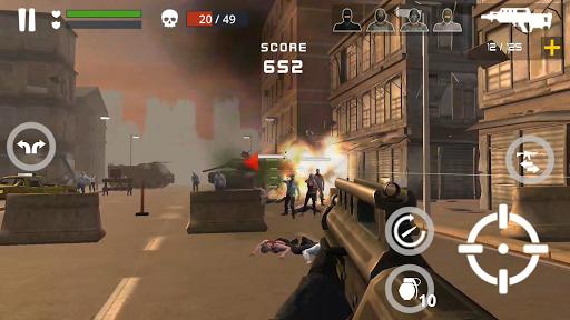 بازی اندروید نبرد زامبی مرده - Dead Zombie Battle : Zombie Defense Warfare
