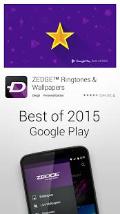 نرم افزار اندروید زج - پس زمینه و نواخت - ZEDGE™ Ringtones & Wallpapers