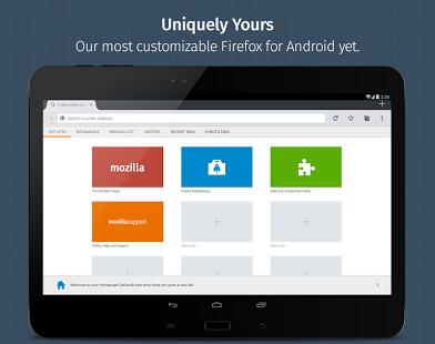 نرم افزار اندروید فایرفاکس - Firefox Browser for Android