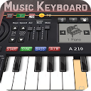 صفحه کلید موزیک