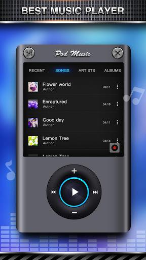 نرم افزار اندروید تقویت بیس و رقص نور - Bass Equalizer & Pod Music