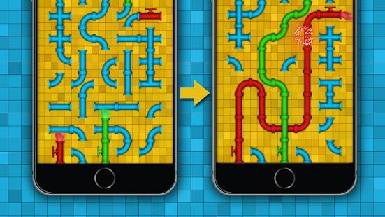 بازی اندروید لوله - معمای ذهنی - Pipe - logic puzzles