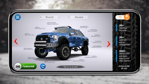 بازی اندروید تنظیم سه بعدی اتومبیل - 3DTuning
