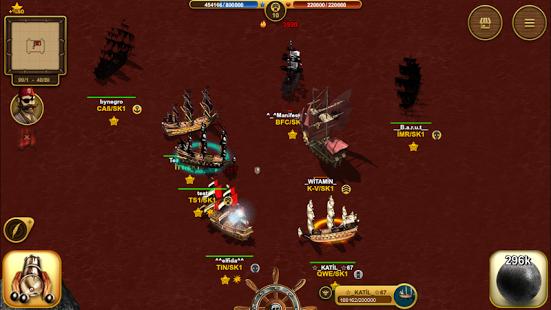 بازی اندروید کشتی دزدان دریایی - Son Korsan Pirate MMO