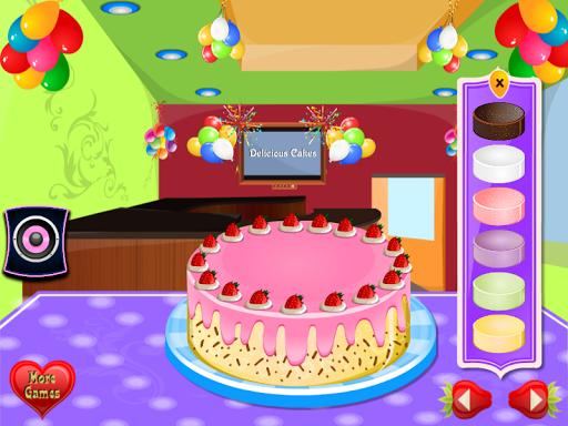 بازی اندروید تزیین کیک خوشمزه - Delicious Cake Decoration