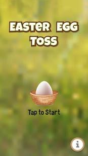 بازی اندروید قاپیدن تخم مرغ - Easter Egg Toss