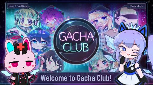 بازی اندروید باشگاه گچا - Gacha Club