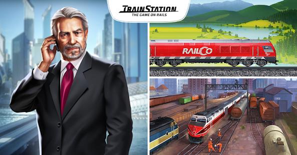 بازی اندروید ایستگاه قطار - راه آهن - TrainStation - Game On Rails