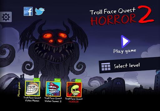 بازی اندروید هالووین ترسناک ترول 2 - Troll Face Quest Horror 2: 🎃Halloween Special🎃