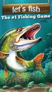 بازی اندروید بریم ماهیگیری - Let's Fish: Sport Fishing