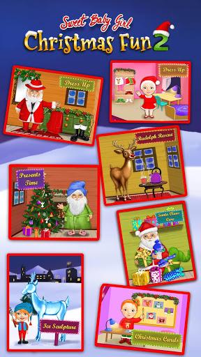 بازی اندروید دختر بچه شیرین کریسمس 2 - Sweet Baby Girl Christmas 2