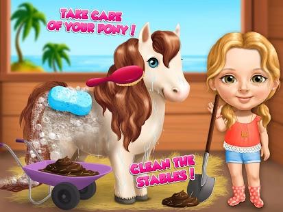 بازی اندروید تابستان دختر شیرین - Sweet Baby Girl Summer Fun