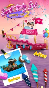 بازی اندروید تابستان دختر شیرین 2 - Sweet Baby Girl Summer Fun 2