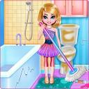 تمیز کردن اتاق دختران دوقلو