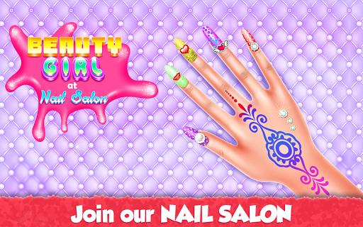نرم افزار اندروید دختر زیبایی در سالن ناخن - Beauty Girl at Nail Salon