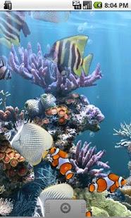 نرم افزار اندروید آکواریوم واقعی - The real aquarium - LWP