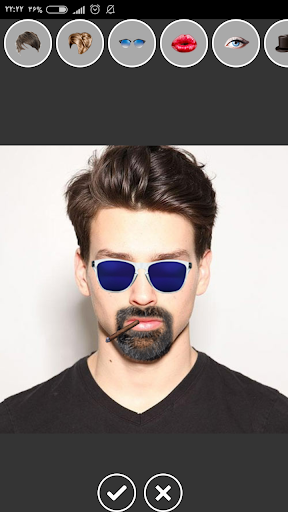نرم افزار اندروید برنامه تغییر چهره طبیعی - Funny Face Maker