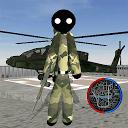 استیکمن قهرمان طناب ارتش ایالات متحده